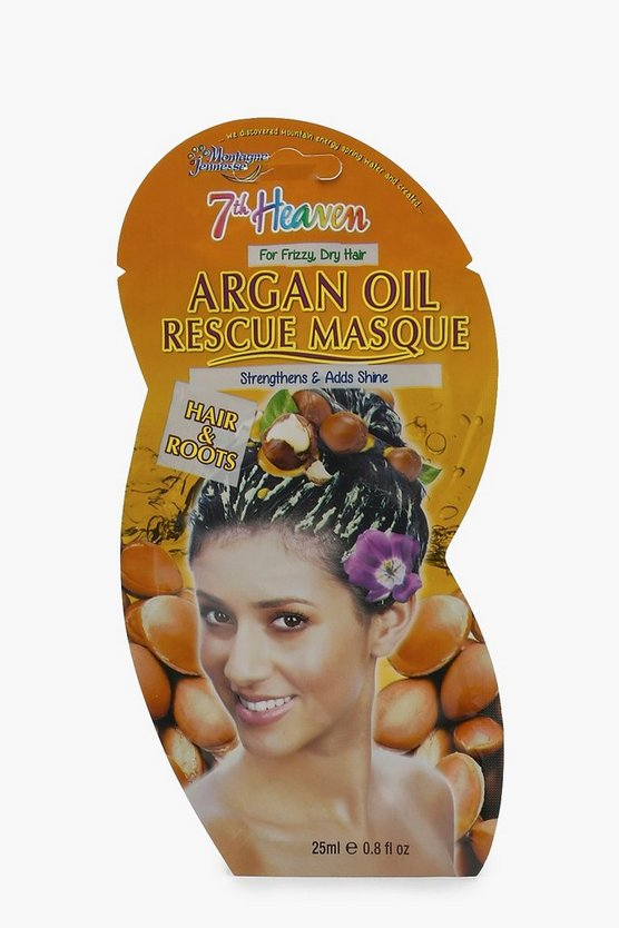 Womens Clear Argan Oil Strength Hair Rescue Mask