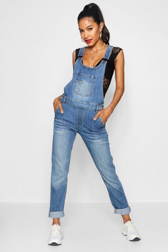 Boyfriend Denim Dungaree