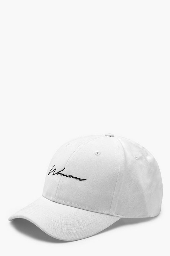 "Gorra con bordado ""Woman"""