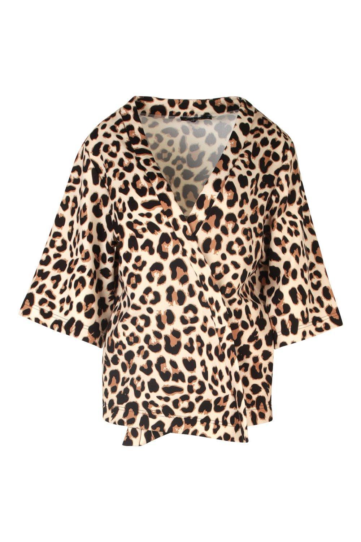 Kimono Kimono stampa leopardata leopardata stampa fzOBxXP