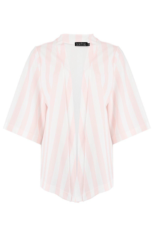 color carne color Kimono a carne a Kimono rayas rayas a Kimono zqtdwO