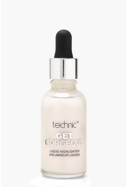 Womens White Technic Get Gorgeous Liquid Highlighter Drops