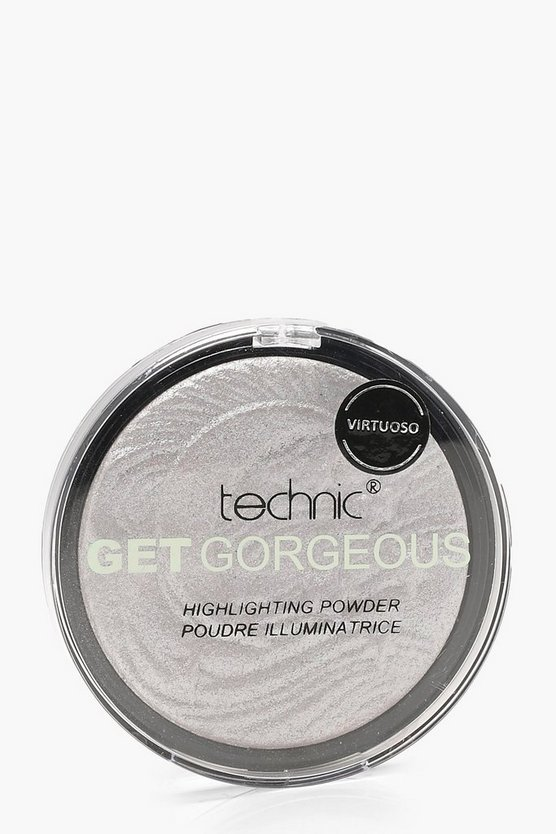 Technic Get Gorgeous Highlighting Puder, Silber, Damen