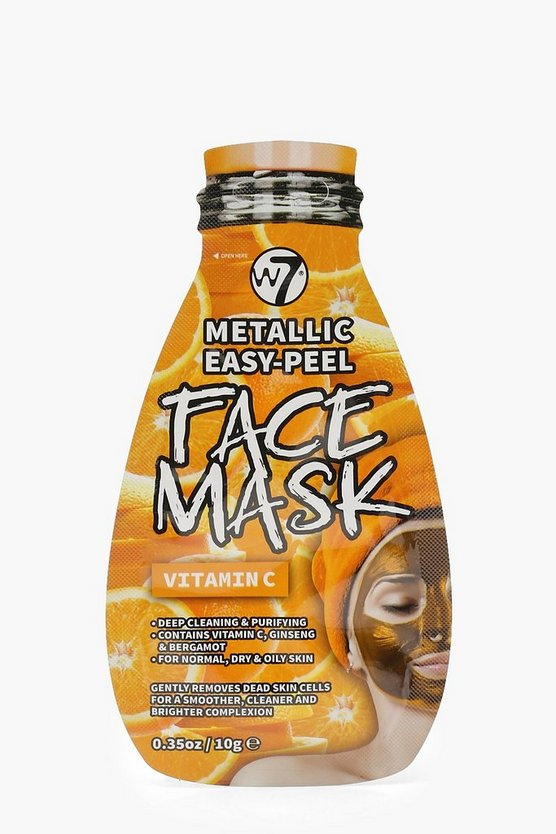 W7 Metallic Easy Peel Vitamin C Face Mask