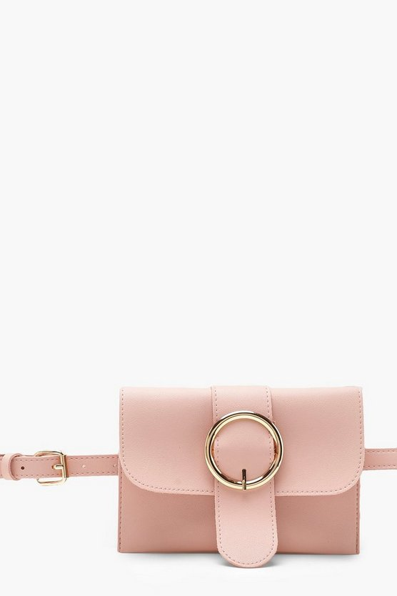 Circle Buckle Belt Bag