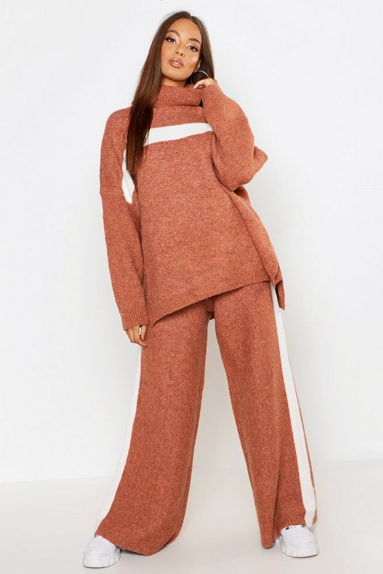 Premium Heavy Knitted Sports Athleisure Set