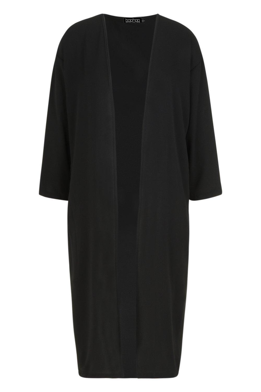 con negro Kimono satén en de bolsillo colores wxqITP7q