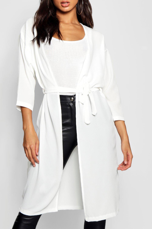 Kimono bolsillo negro con de colores satén en rxwnqArPY