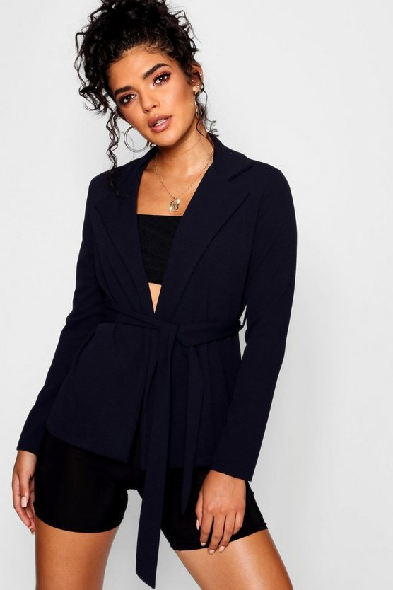 Belted Relaxed Blazer