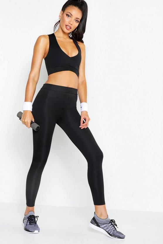 Fit High Waisted Running Leggings
