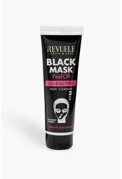 Womens Black Co-Enzymes Deep Cleansing Peel Off Face Mask