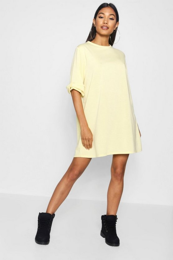 Katie Bow Sleeve Oversized Sweat Dress
