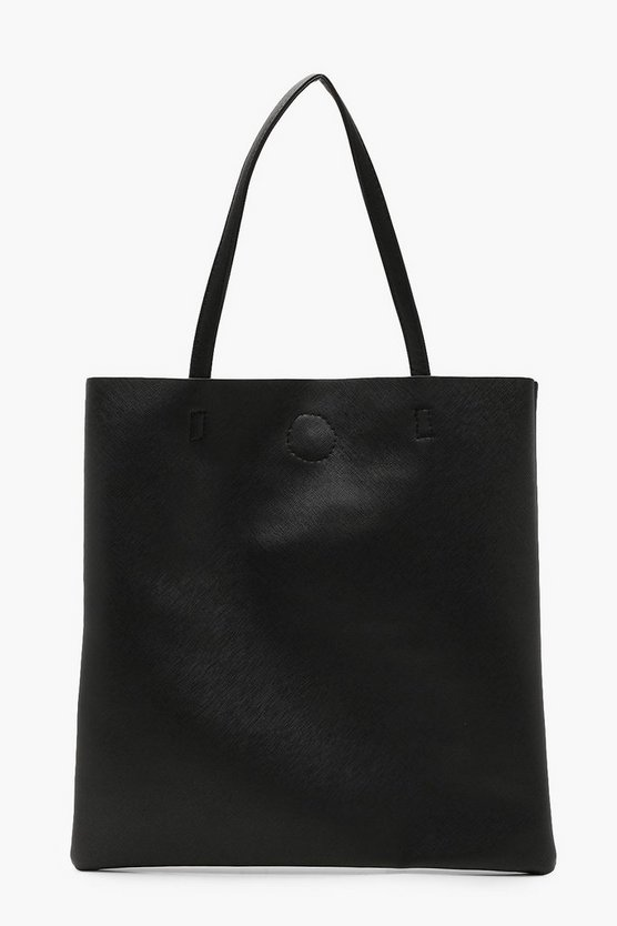 Womens Crosshatch Basic Shopper