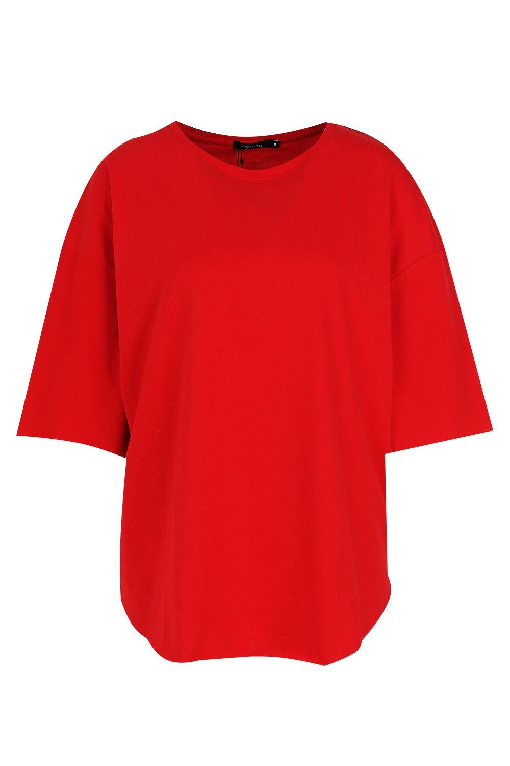 Shirt Oversized Supersoft Oversized T red Shirt Supersoft T red xRx0Zawq