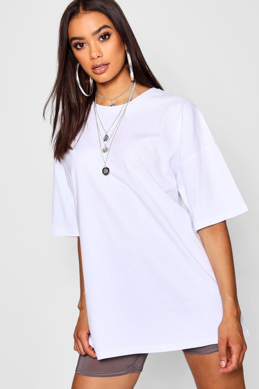 white Shirt Pastel Washed T Oversized xwYSqc4