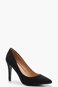 Extra Wide Fit Pointed Court Shoes