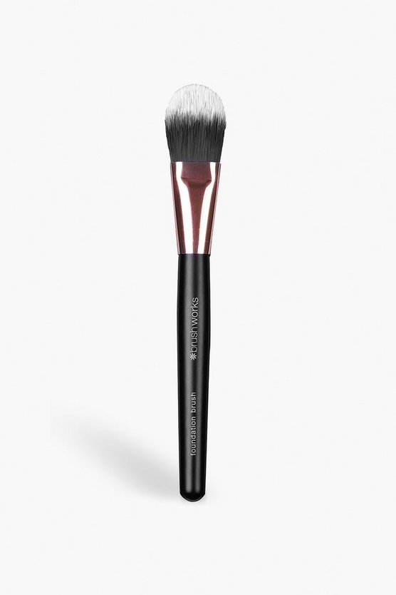 Black Brushworks Foundation Brush