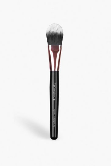 Womens Black Brushworks Foundation Brush