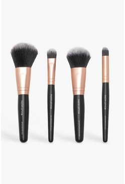 Womens Black Brush Works Mini Brush Set