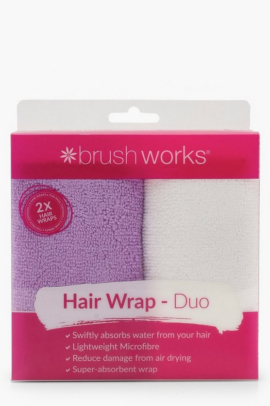 Duo Hair Wrap Towel