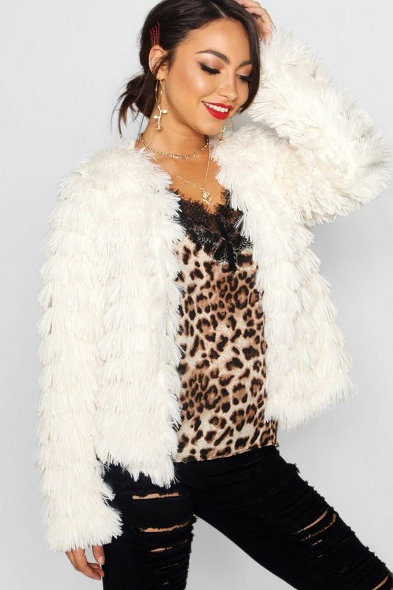 Erin Shaggy Faux Fur Coat