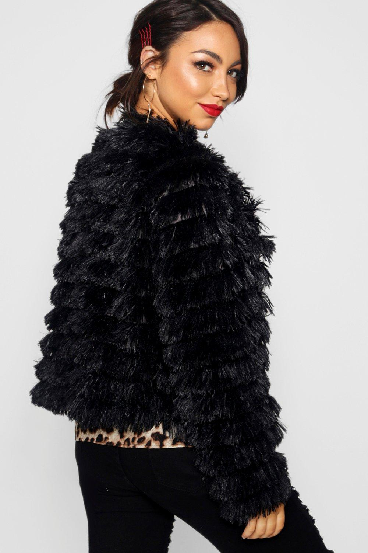 Erin Faux Shaggy Erin Shaggy Coat Fur wq1awd4