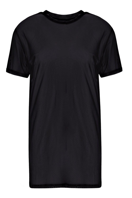 Shirt Oversized black T Shirt Mesh Oversized black T Mesh 70XzXqp