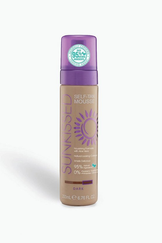 Womens Sunkissed Dark Fake Tan
