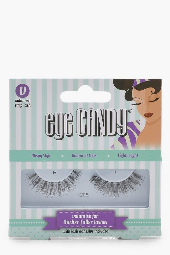Womens Black Eye Candy Volumise Style 250 Lashes