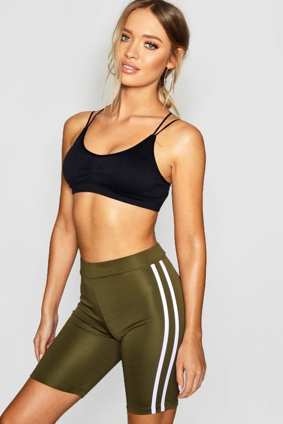 Fit Side Stripe Cycling Shorts
