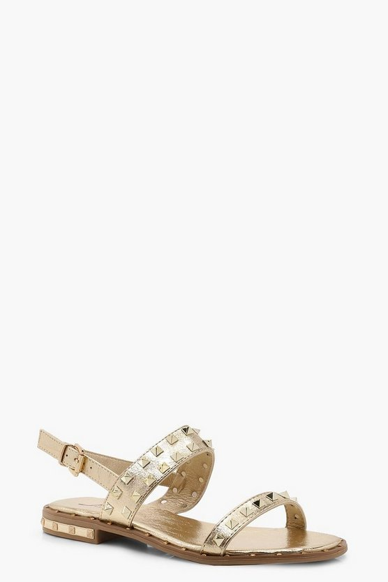 Studded Two Part Sandals