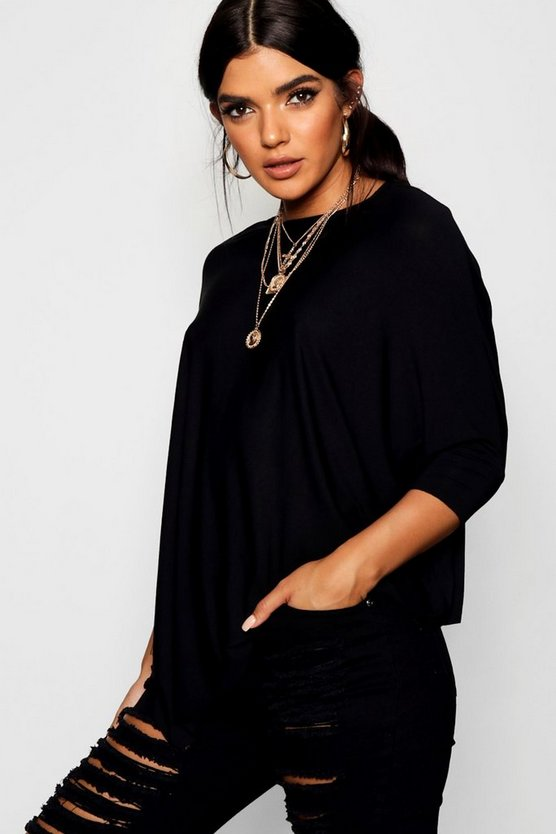 Frances Oversized Batwing Tee