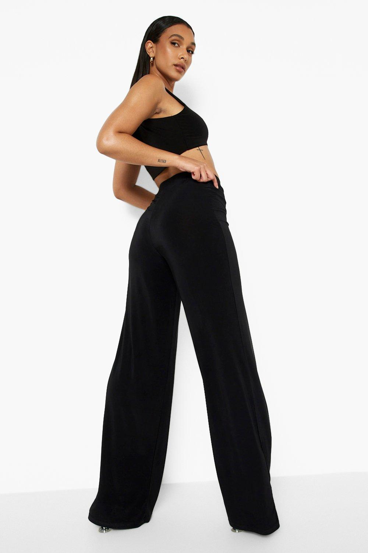 Pantalones acampanados acampanados elegantes negro Pantalones negro acampanados Pantalones elegantes elegantes 0Iw4q4Px