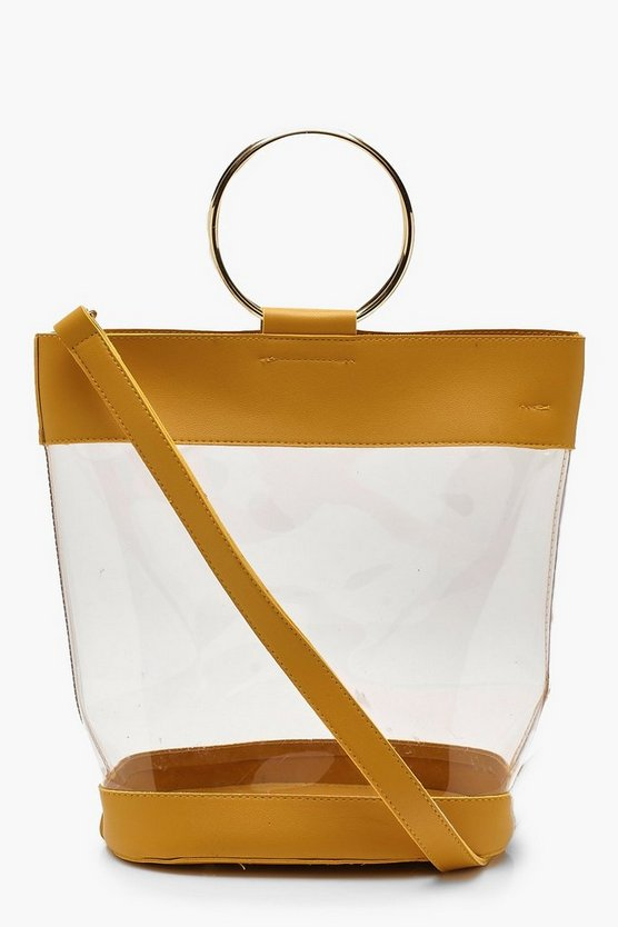 Ria Ring Detail Clear Day Bag