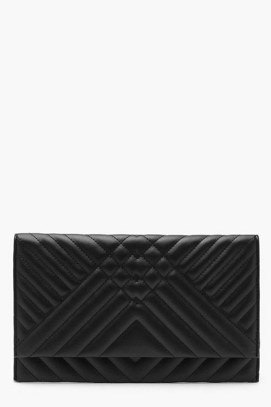 Maya Mixed Quilt Clutch