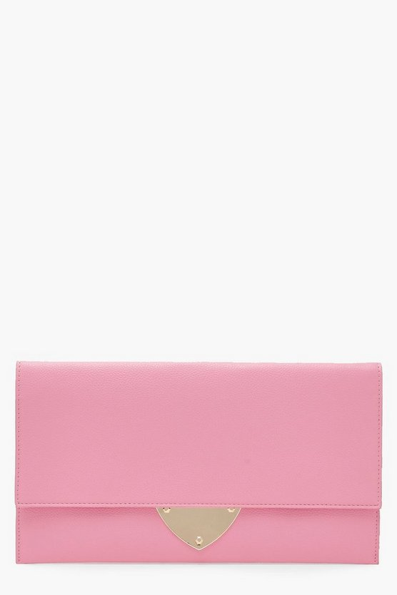 Mia Metal Detail Clutch