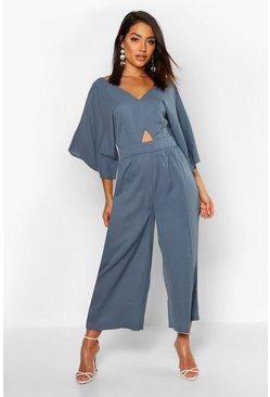 buy popular 2c57f dac08 Hosenrock-Jumpsuit mit Kimonoärmeln