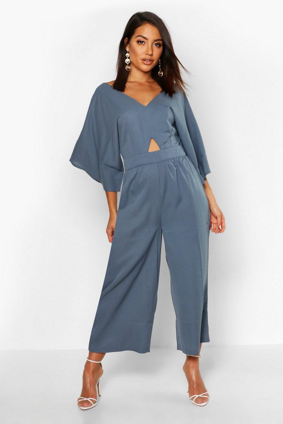 free delivery shop affordable price Combinaison jupe-culotte à manches kimono   Boohoo