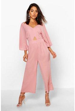 2c1a5d25d Combinaison jupe-culotte à manches kimono