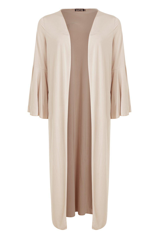 con gris Kimono elegante piedra Kate manga acampanada 6x55w1TqZ