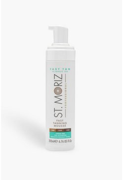 Womens White St Moriz Professional Fast Tan
