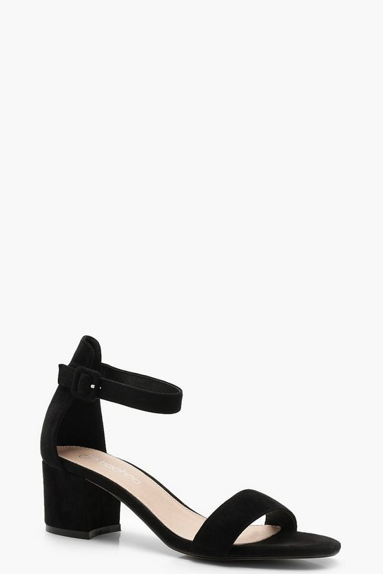 Low 2 Part Block Heels
