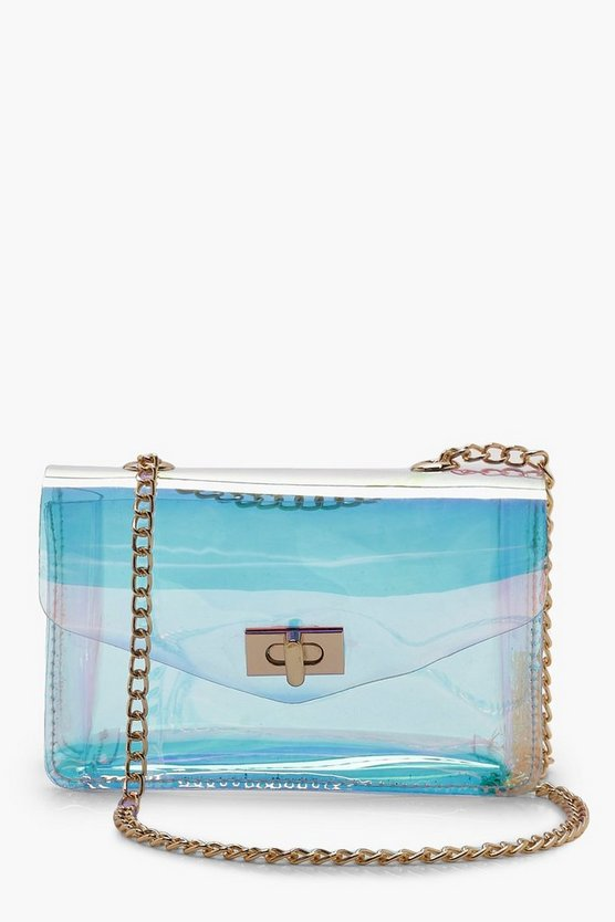 Holographic Cross Body