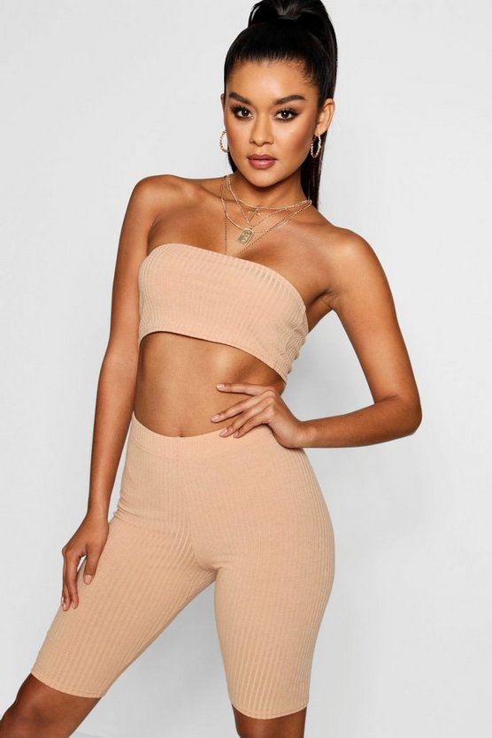 Bandeau And Cycling Short Co-ord