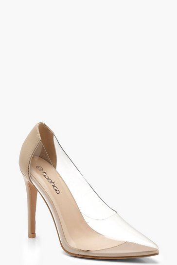 Nude Clear Court  Shoes