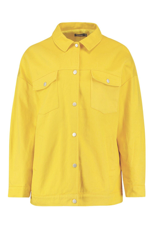 amarillo Chaqueta amarillo ancha utility Chaqueta ancha Chaqueta utility xwqanpTZHO