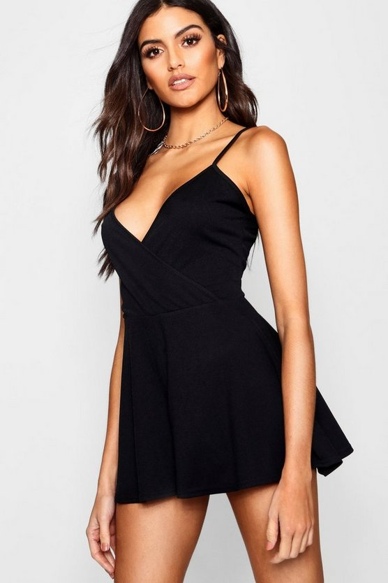 Cami Wrap Playsuit