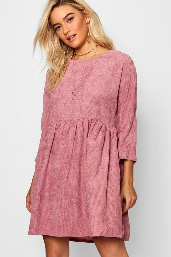 Chunky Cord Smock Dress
