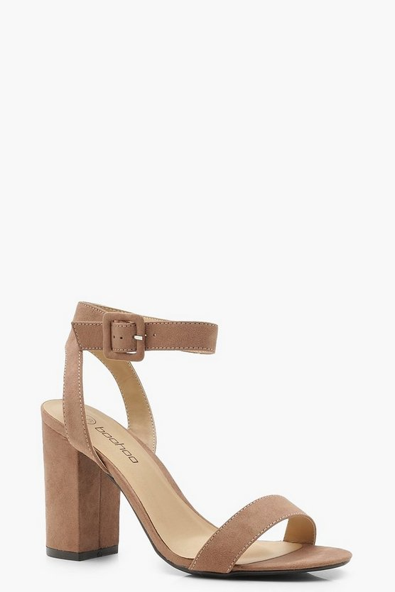 Two Part Block Heels
