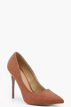 Wide Fit Skin Tone Court Shoes